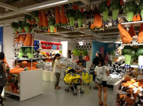 IKEAおもちゃコーナー
