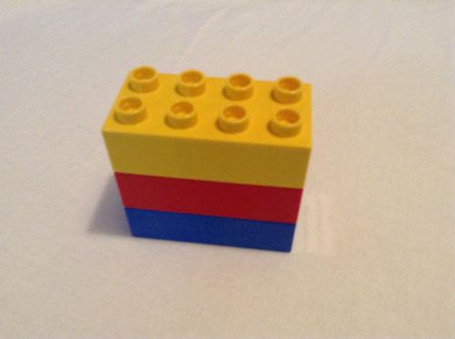 同じ大きさのレゴブロック