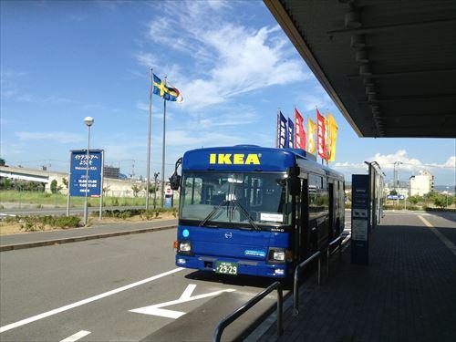 IKEAシャトルバス