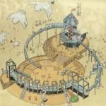 大阪城公園には子供天守閣という大型遊具広場があるのを皆は知っているか。
