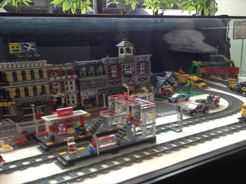 レゴの電車