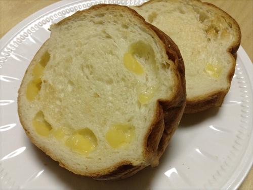 ↑丸太パン・チーズ