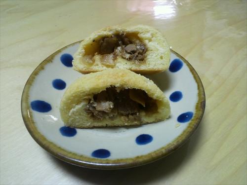 チャーシューメロンパン