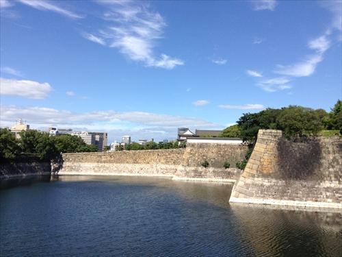 大阪城内堀