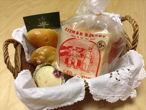 レオナイスブレッドで購入したパン