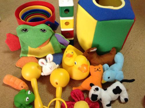 プレイアロング付属の玩具