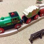 北欧の木のおもちゃ、ブリオのカントリーレールウェイセットを購入!
