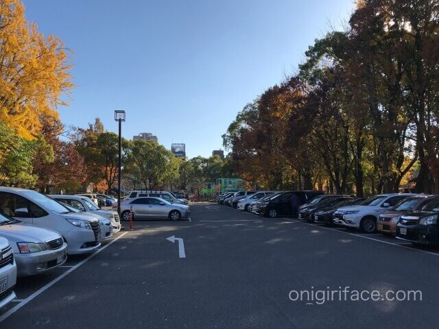 大阪城駐車場