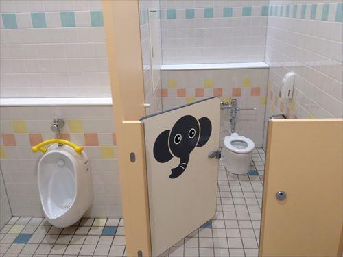 アピタ西大和店・子供用トイレ