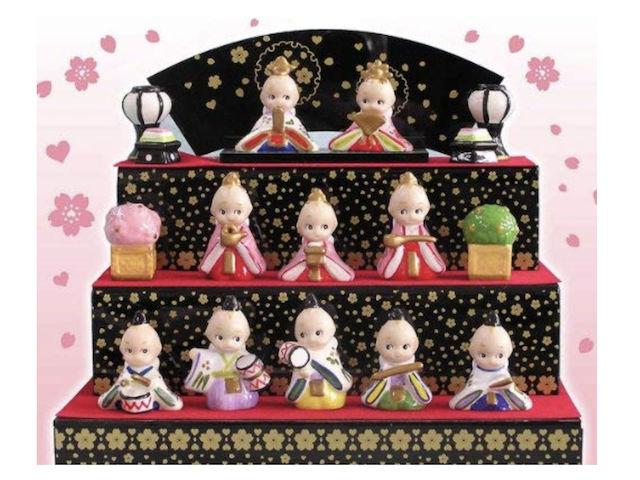キューピー雛人形