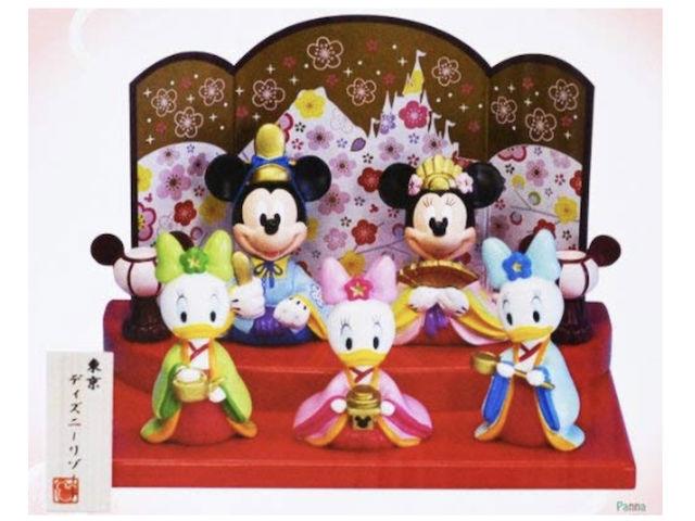 ミッキーマウス雛人形