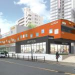 JR玉造駅に大阪環状線そっくりのオレンジ色ビル・ビエラ玉造ができるぞ