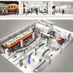 """くずはモールリニューアル・鉄道博物館の詳細が明らかに。名前は""""SANZEN-HIROBA(3000広場)"""""""