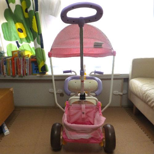 ミッフィーのプチハナカーゴ三輪車