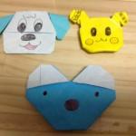 【YouTube・ナナピ】ワンワン、うーたん、ペネロペの折り紙を折ってみた