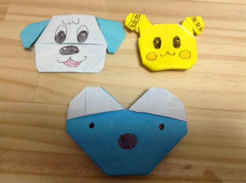 YouTube・ナナピのワンワン、うーたん、ペネロペの折り紙を折ってみた