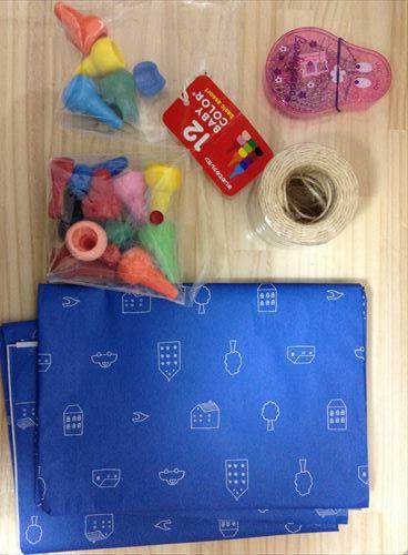 100均で手作りおもちゃ・子供用魚釣り(材料2)