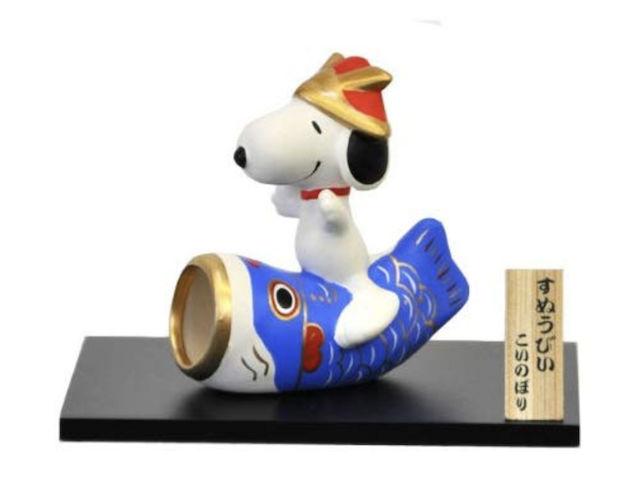 スヌーピー五月人形