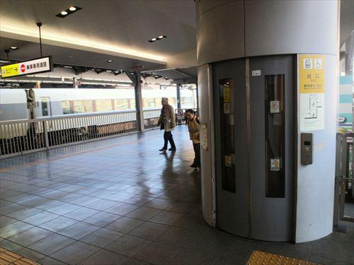 大阪環状線・大阪駅エレベーター②