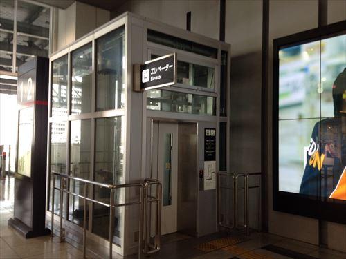 大阪環状線・大阪駅エレベーター①