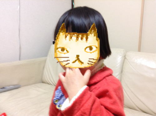 「散髪マント」