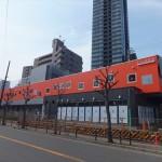 JR大阪環状線そっくりのビエラ玉造と本物の環状線との2ショット撮影に成功!