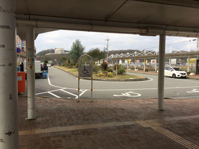 JR新三田駅前ロータリー