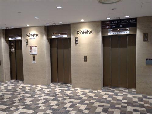 あべのハルカス近鉄のエレベーター