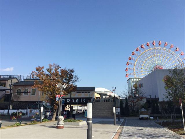 神戸ハーバーランドumieのMOSAIC館と神戸アンパンマンミュージアム
