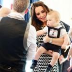 キャサリン妃とジョージ王子