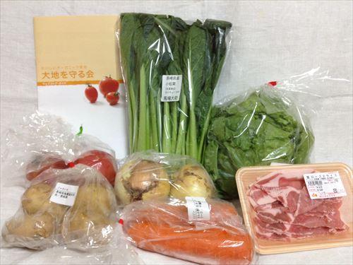 オーガニック野菜宅配「大地を守る会」のお試しセットを購入