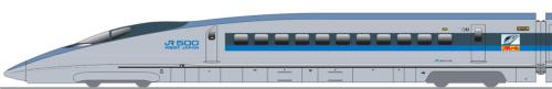 新幹線500系こだまプラレールカー