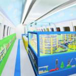 新幹線500系「こだま」プラレールカーの時刻表について