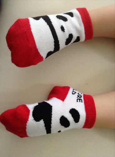 アドベンチャーワールドパンダ靴下