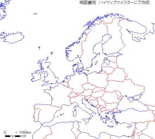 帝国書院・地図