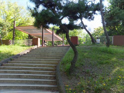 天保山の展望台