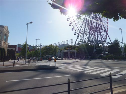 天保山・海遊館と観覧車