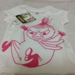 ムーミン&ユニクロコラボ・Tシャツを購入