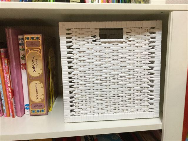 IKEAの竹製収納ボックス
