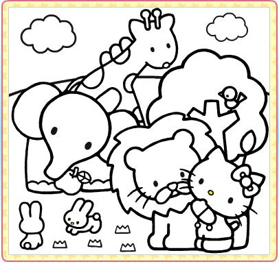 子供用キャラクターぬりえを無料で印刷できるサイト9つ おにぎり