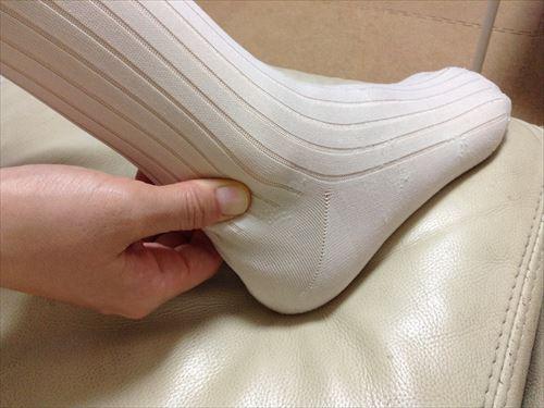 足がつるの(こむらがえり)を防ぐ簡単マッサージ法①