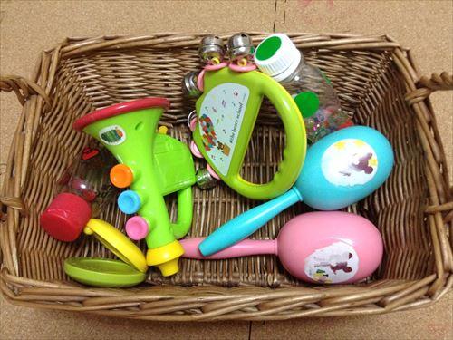 子供のおもちゃ箱収納