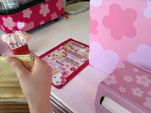 ハローキティのコーナーカフェ(Hello Kitty's Corner Cafe)レジ