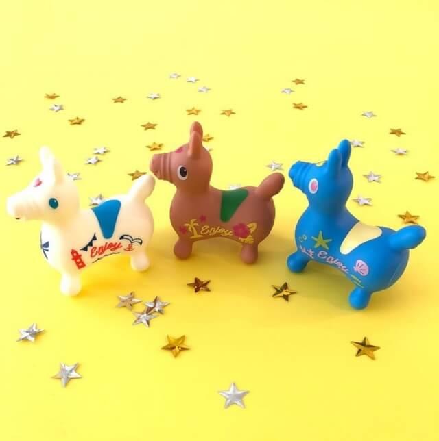 100均キャンドゥのおもちゃ「ロディ夏カラー」