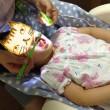 歯科検診ごっこ遊び+仕上げ磨き