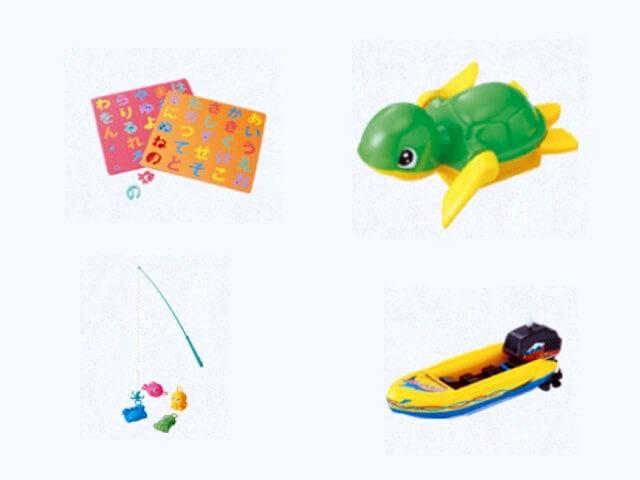 100均セリア「おふろで使えるおもちゃ」2020年新作