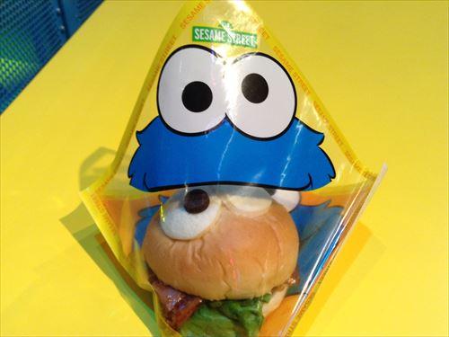 クッキーモンスターサンドイッチ