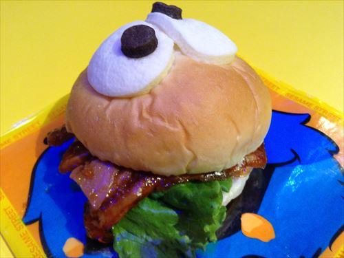 クッキーモンスターキッチンのてりやきたまごサンドイッチ