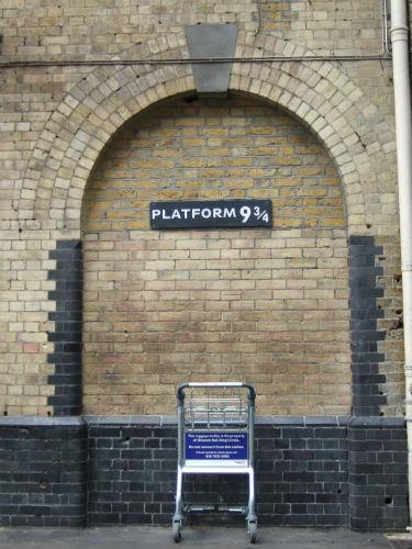 ロンドンのキングスクロス駅