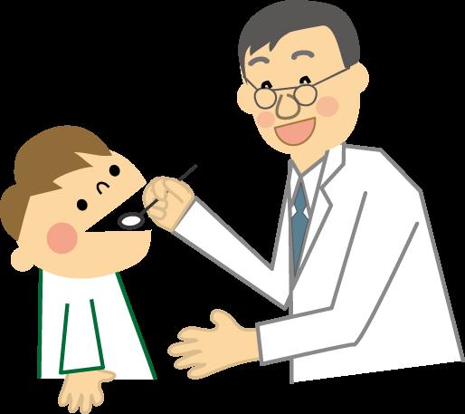 3歳児検診の様子